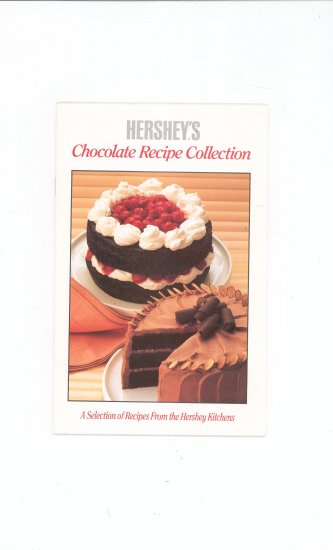 Hershey's Chocolate Recipe Collection Cookbook 1989