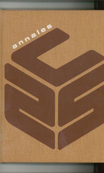 Annales 1971 Year Book Yearbook Utica College New York Vintage