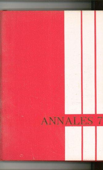 Annales 1972 Year Book Yearbook Utica College New York Vintage