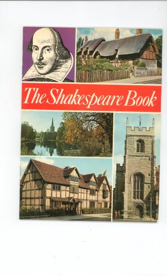 The Shakespeare Book by Levi Fox Vintage 1976