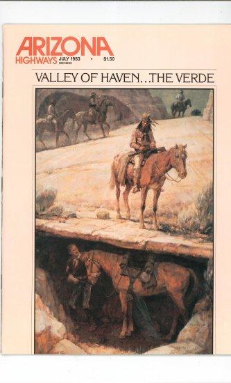 Arizona Highways Vol. 59  Number 7 July 1983