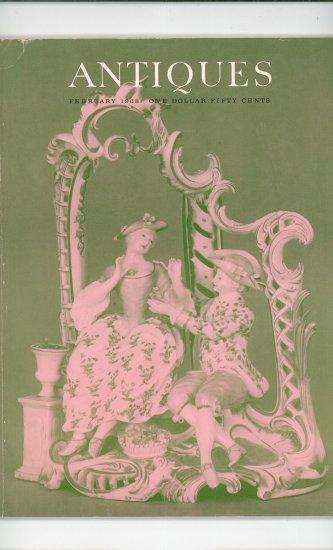 The Magazine Antiques Back Issue February 1968