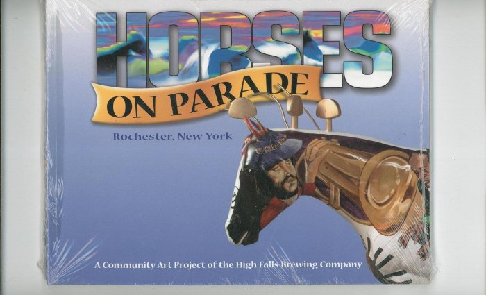 Horses On Parade Rochester New York Local Artist Art Community Regional High Falls Brewing Company