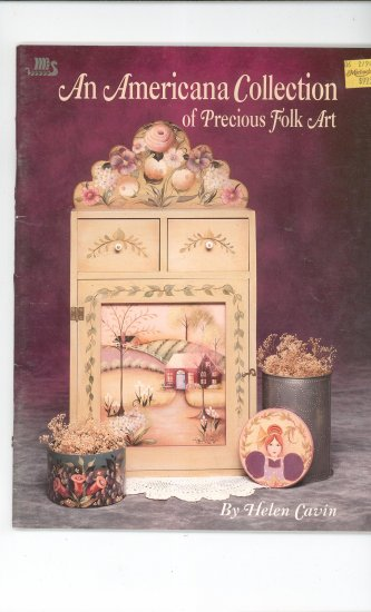An American Collection Of Precious Folk Art Craft Book Helen Cavin