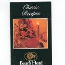Classic Recipes Boars Head Cookbook