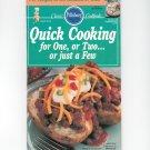 Pillsbury Classic Cookbook Quick Cooking September 1990 115