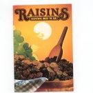 Vintage Raisins Everything Under The Sun Cookbook California Advisory Board 1977