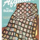 Your Favrite Afghans by Bucilla To Knit and Crochet Vintage 1966