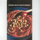 Diamond Walnut Recipe Favorites Cookbook Vintage 1978