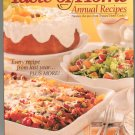 Taste Of Home Annual Recipes 2009 Cookbook 0898216196  320 Pages