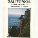 Northern California Coast Highway 1 Souvenir Guide Book 1984