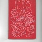 Swedish Food Cookbook Vintage 200 Dishes Fourth Edition 1951