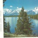 Vintage Union Pacific Railroad Dining Car Menu Teton Mountains Breakfast 127 5-58 1958