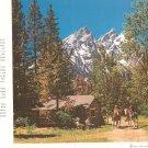 Vintage Union Pacific Railroad Dining Car Menu Dinner  Teton Mountain 127 2W 5-58 1958