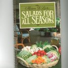 Salads For All Seasons Cookbook by Miriam B. Loo's 1982