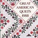 Great American Quilts 1988 0848707206 Sandra L. O'Brien