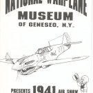 Lot Of 2 Air Show Warplane Souvenir Programs New York