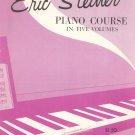 Eric Steiner Piano Course Book Four Vintage 1960 Belwin Inc.