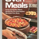 Better Homes And Gardens Oven Meals Cookbook Vintage 696007401 First Edition