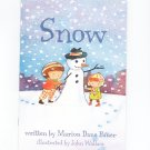 Lot Of 2 Children's Books Rain and Snow By Marion Dane Bauer 0439711223  0439711225