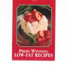 Prize Winning Low Fat Recipes Recipe Collection Cookbook