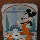 Disney Plant A Seed And Watch Your Dreams Grow Mickey Plaque With Box 045544067560  4004853