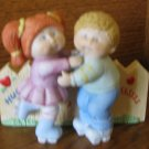 Cabbage Patch Hugs And Kisses  Figurine 5453 With Box 1985