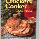 Crockery Cooker Cookbook by Better Homes And Gardens 696008602 Vintage First Edition