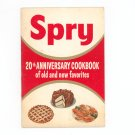 Vintage Spry 20th Anniversary Cookbook 1955