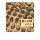 Vintage Chocolate Candies You Can Make Cookbook 1936 General Foods