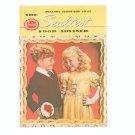 Vintage The Sealtest Food Adviser Cookbook 1947