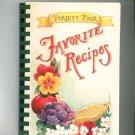 Variety Pack Favorite Recipes Cookbook Regional Methodist Church PA  1997