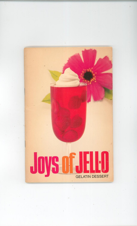 Joys Of JELLO Gelatin Dessert Cookbook Jell O Jell-O