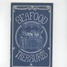 Vintage Seafood Treasures Cookbook Irena Kirshman 1970