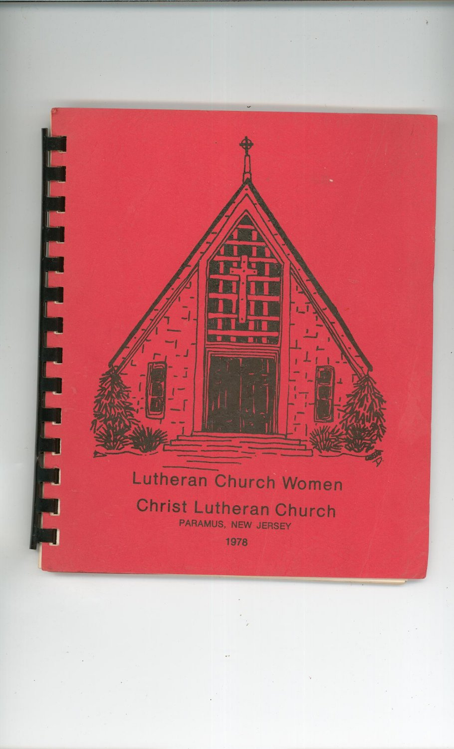 Vintage Lutheran Church Women Cookbook Regional New Jersey 1978