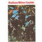 Italian Wine Guide by Italian Wine Center 1982