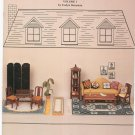 Miniature Collection Volume 1 by Evelyn Bernstein Cross Stitch Needlepoint 1981