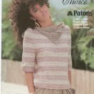 Natural Choice Susan Bates No. 17728 Knit Crochet Patons