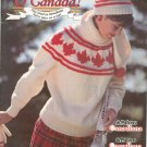 Patons O Canada Our Land In Bandknits Number 526 Knitting 1989