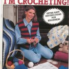 I Can't Believe I'M Crocheting Beginners Leisure Arts 2738  1995