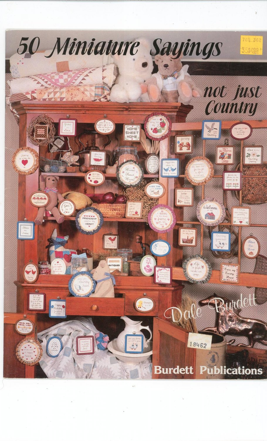 50 Miniature Sayings Not Just Country by Dale Burdett 1984