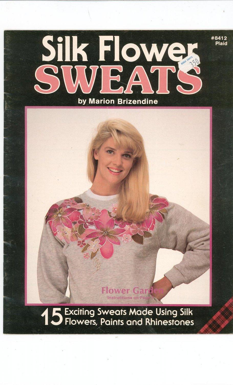 Silk Flower Sweats by Marion Brizendine Sweatshirt Decorating