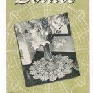 Vintage Doilies Book Number 163 Spool Cotton Company 1941 Crochet