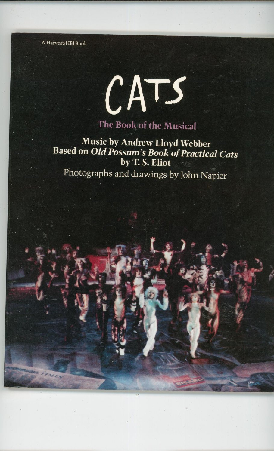 CATS The Book Of The Musical 0156155826
