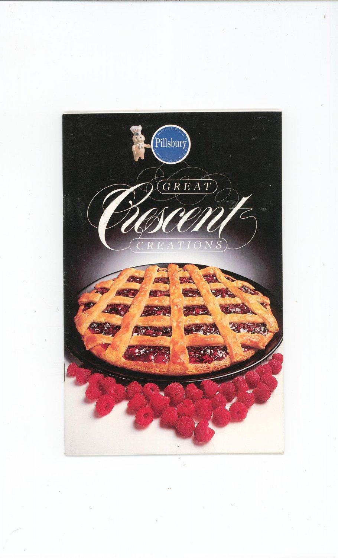 Pillsbury Great Crescent Creations Cookbook 1984