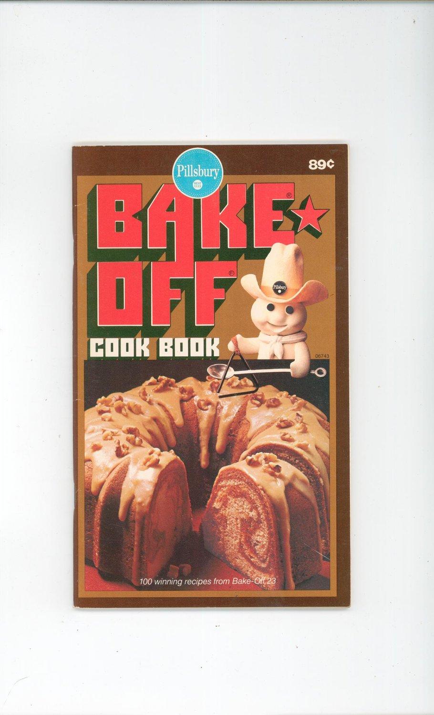 Vintage Pillsbury Bake Off Cook Book Cookbook 23 1972