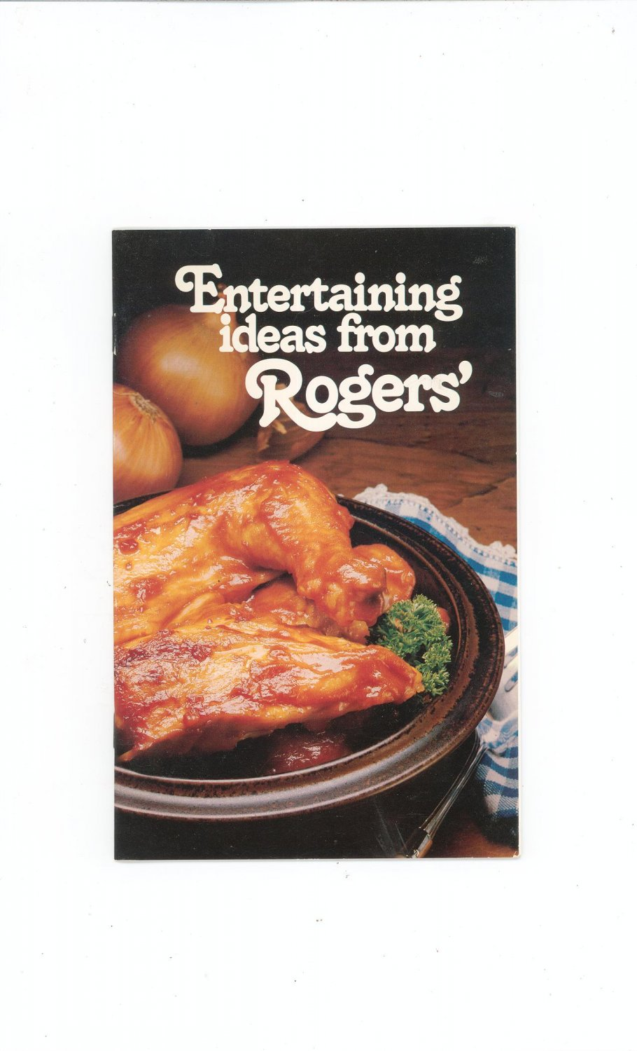 Entertaining Ideas From Rogers' Cookbook / Brochure Rogers' Pancake Syrup Vancouver BC