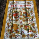 Souvenir Harrods Knightsbridge Tea Towel By Ulster Reg. No. 2158 Ireland Linen