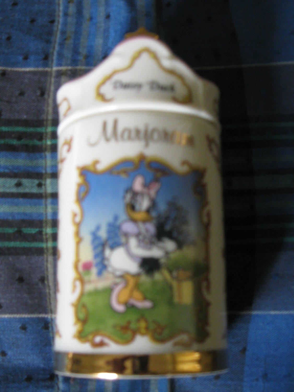 Awesome Disney Daisy Duck Marjoram Spice Jar Lenox 1995 Collection