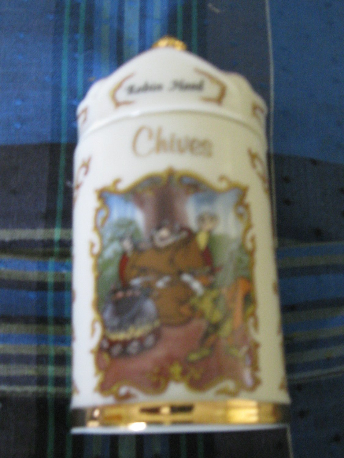 Awesome Disney Robin Hood Chives Spice Jar Lenox 1995 Collection